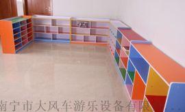 广西南宁幼儿防潮板玩具柜鞋柜 南宁幼儿家具厂