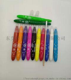 廠家蠟筆可水洗炫彩旋轉水溶性油畫棒直銷