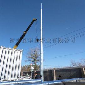 供应独立钢管避雷塔 GH系列钢管避雷塔