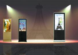 液晶43寸立式觸摸廣告機 液晶查詢機 數位標牌