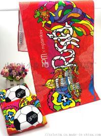 广告礼品毛巾 纯棉运动巾 数码印花巾