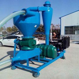 麩子粉料吸糧機型號,倉儲糧食吸送機定做,氣力輸送羅茨鼓風機價格,