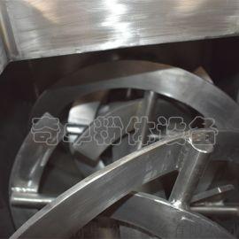 六安螺帶混合機,不鏽鋼砂輪料專用螺帶混合機供應商