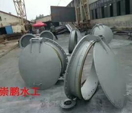 拍門廠家北京鋼制拍門崇鵬泵站拍門