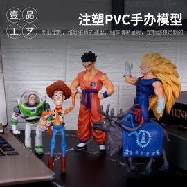 企業吉祥物來圖定做 pvc搪膠公仔玩具定制 精品卡通動漫手辦定制