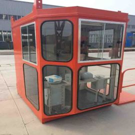 塔吊司机室驾驶室 钢化玻璃天车司机室