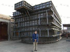 组合钢模板 特大墩帽模板
