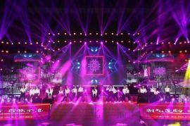 济南线阵音响、舞台灯光、室内外LED显示屏租赁