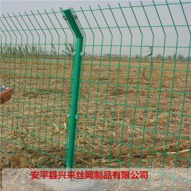 鄭州住宅小區菱形護欄網,公路電鍍鐵絲網