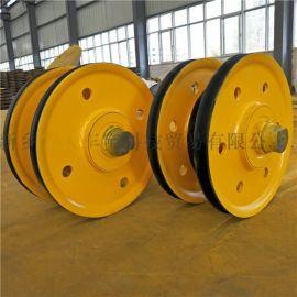 10t鋼絲繩吊裝滑輪 卷揚機導向輪 天車滑輪組