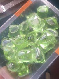國內成熟滾筒式水溶膜包裝機 洗衣凝珠包裝生產線