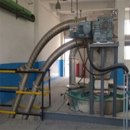 尼龍盤片管鏈機 水準管鏈輸送機LJ1傾斜上料機
