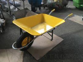 金屬建築手推車 噴塑農用手拉車 商業花園獨輪車