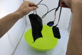 可水洗柔軟耐折疊電熱服發熱片