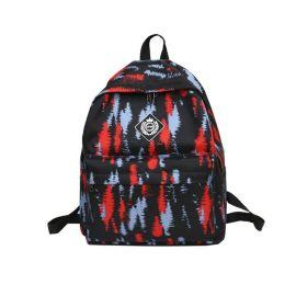 工厂定制时尚休闲双肩背包 男女学生书包 旅行背包 年货订购