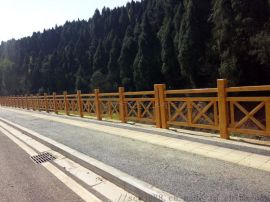 水泥戶外仿木欄杆 重慶億錦仿木欄杆