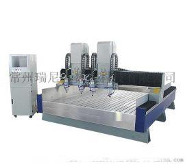 數控實用多軸石材雕刻機,石柱精雕機,接受定制