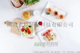 可降解紙漿飯盒一次性食具外賣打包盒沙拉碗