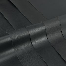PVC包装面料0.45水刺底黑色现货批发