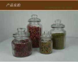 特價宜家無鉛居家玻璃儲物瓶密封罐創意糖果罐茶葉罐調味罐