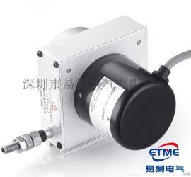 M型拉繩位移感測器(支架安裝式)