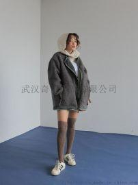 兰梦萱羽绒服折扣店女装货源折扣女装