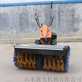 多功能扫雪车捷克机械 清雪机 手推防滑轮胎除雪机
