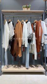 雅哲呢子大衣品牌尾貨/中高低端品牌女裝/三薈