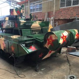 大型軍事99坦克動靜態模型廠家直銷