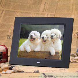 8寸超薄LED显示屏数码相框,视频广告机,企业定制