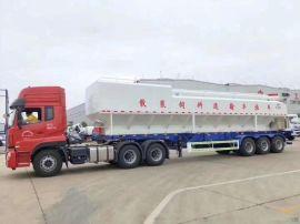 30吨牵引头半挂散装饲料运输车60方