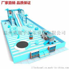 淘气堡儿童乐园百万海洋球滑梯大型玩具