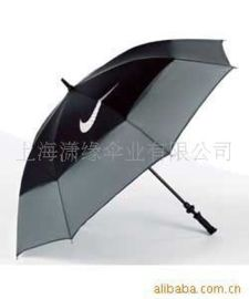 双层高尔夫雨伞,纤维伞架双层高尔夫伞,广告伞礼品伞订制