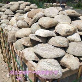 天然鵝卵石切片 牆面裝飾鵝卵石  別墅外牆文化石