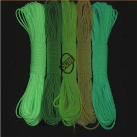 登山绳 逃生绳 军规七芯伞绳 安全绳夜视更可靠