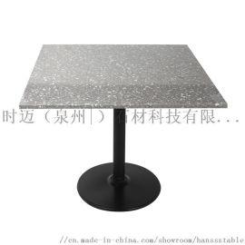 咖啡厅桌椅牛排店餐 甜品店桌高档台不锈钢桌子