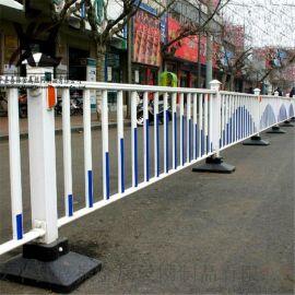 道路劃線安裝護欄,防跨越道路護欄,交通安全市政護欄