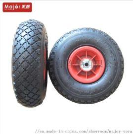 貨倉車輪子,10 寸 充氣輪,300-4 橡膠輪