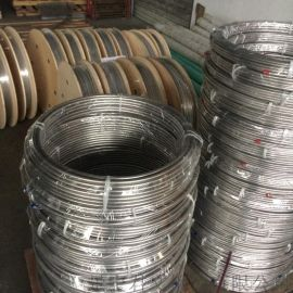 無縫不鏽鋼盤管 316L 304 9.53x1.24