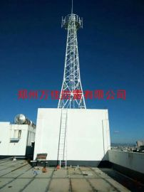 GFL1-3钢结构避雷针塔,20米四角角钢避雷塔