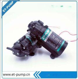 ET爱迪 50G增压泵 纯水机专用水泵 家用净水器增压泵  爱迪ET 50G反渗透增压泵 通用型增压泵 微型泵厂家