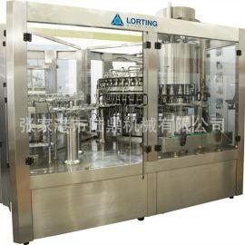 液體全自動灌裝機 純淨水三合一灌裝生產線