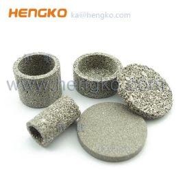 恆歌精密生產耐高溫防塵不鏽鋼粉末燒結過濾片濾芯