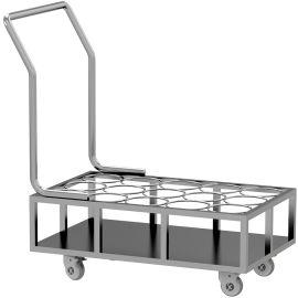 SKH008-2 不锈钢送水车 不锈钢推车