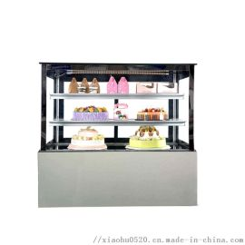 1.2米保鲜展示柜|直角三层冷藏蛋糕展示柜