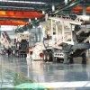 石子移動破碎站 輪胎式青石破碎機 大型碎石機廠家