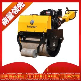 中小型压路机生产大厂 山东路得威 遥控压路机 手扶压路机 座驾式压路机