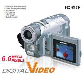 带32M内存660万像素数码摄象机带MP3/MP4 (DV685)