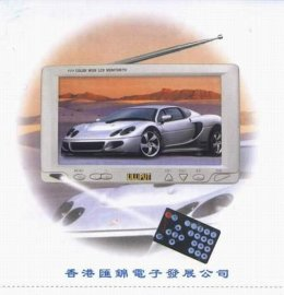7寸宽频车载液晶彩电(318GL-70TV)