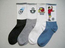 少年短统足球袜